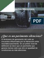 Pavimentos Silenciosos presentación.