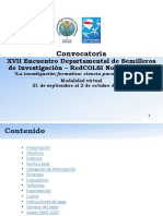 Convocatoria XVII EDESI 2020 Nodo Atlántico V4
