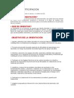 FORO DE PARTICIPACIÓN