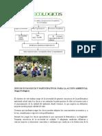 JUEGOS ECOLOGICOS Y PARTICIPATIVOS
