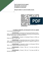 DELIBERAÇÃO CME Nº 39 (1)