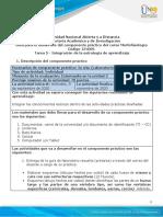 morfo Guía desarrollo de componente practico unidades 1, 2 y 3 - Tarea 5 - Laboratorio presencial