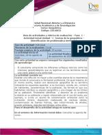 1.Guía Unidad 1 - Fase 1 - Identificación de problematica territorial