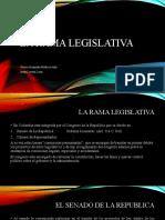 La rama legislativa