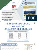 COLUMNA DE BORBUJAS