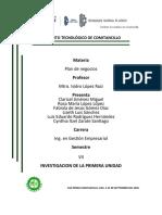 INVESTIGACION DE UNIDAD 1 PLAN DE NEGOCIOS - copia
