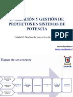 Clase Gestión de proyectos
