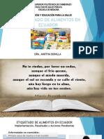 Etiquetado de alimentos en Ecuador