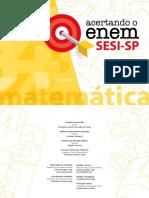ACERTANDO O ENEM - MATEMÁTICA - SESI -SP.pdf