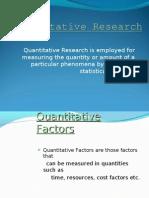 Quantitative Research final
