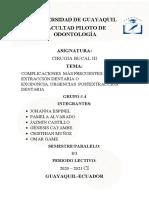 GRUPO 4 - COMPLICACIONES POST EXODONCIABorrador (1)