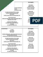 Himno ambiental institucional y oración ambiental