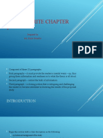 How to write chapter 1 (1)