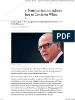 H. R. McMaster on Trump_The Atlanic Interview