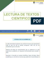 LECTURA DE TEXTOS CIENTIFICOS
