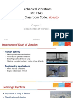 Chapter-1 Fundamentals Of Vibration
