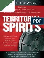 Territorial spirits- Peter Wagner