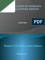 WinXP Media Center Edition