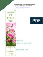 SIMFONIA PRIMĂVERII