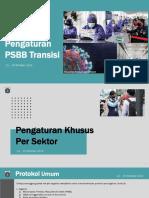 Pengaturan PSBB Transisi DKI Jakarta 12-25 Oktober 2020