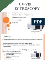 UVSpectroscopy.pptx