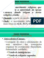 869628907(Aula 2) Reforma e Contra-reforma