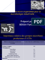 Chapitre II Le choix des Mrg pour la microbiologie industrielle.ppt