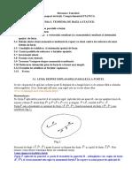 Prelegerea 3 Teorema staticii