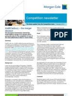 Competition newsletter February 2010