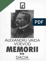 Alexandru Vaida-Voevod - Memorii vol 2
