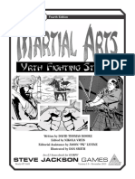 GURPS 4E - Martial Arts - Yrth Fighting Styles