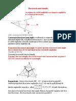 6-Bisectoarele unui triunghi
