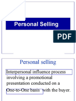 1 2 personal  selling
