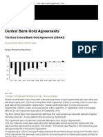 Central Bank Gold Agreements _ Government Affairs _ World Gold Council