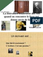 ecrivains francais.ppt