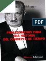 Heidegger, Martin - GA 20 - Prolegomenos para una historia del concepto de tiempo.pdf