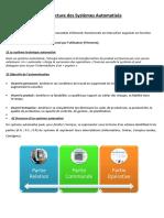 Chapitre 2_Architecture des Systèmes Automatisés_UEF3221