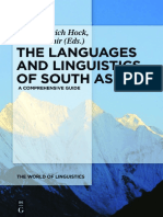 The Languages and Linguistics of South Asia A Comprehensive Guide by Hans Henrich Hock, Elena Bashir (z-lib.org)