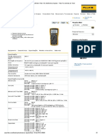 Multímetro Fluke 115, Multímetros Digitais - Fluke Ferramentas de Teste