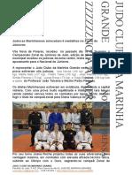 judocas marinhenses arrecadam 6 medalhas