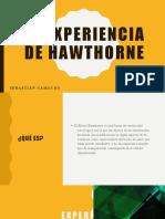 LA EXPERIENCIA DE HAWTHORME