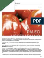 paleosystem.es-Dieta Paleo para Vegetarianos