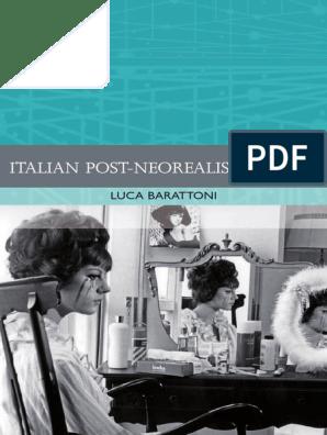 Italian Post Neorealist Cinema Luca Barattoni Cinema Of Italy Italy