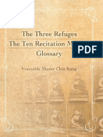 The Three Refuges_The Ten Recitation Method Glossary