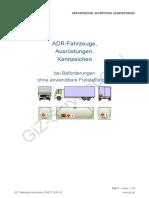 ADR-Fahrzeuge, Ausrüstungen, Kennzeichen. bei Beförderungen ohne anwendbare Freistellungen!.pdf