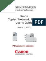 Canon IR2270 userguide