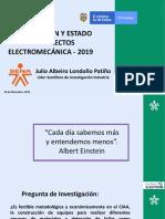 Socializacion y Estado de proyectos_JULIO_LONDOÑO_2019