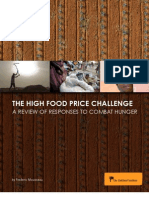 The High Food Price Challenge