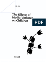 Effects of media violence on children