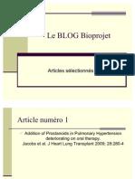 Le BLOG Bioprojet - articles sélectionnés v1